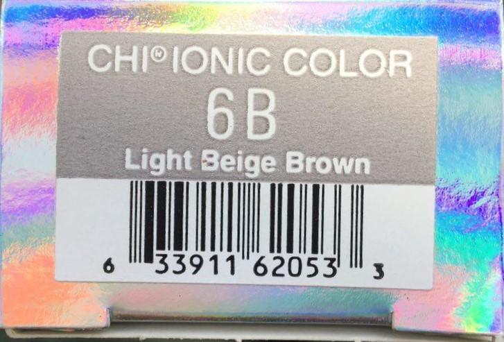 Крем-краска CHI Ионик 6 B 85 гр