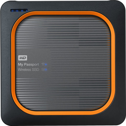 Жесткий диск беспроводной Western Digital 2TB My Passport Wireless Pro SSD WD