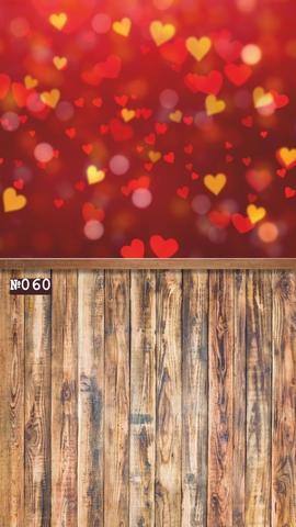 Фотофон виниловый стена-пол «Любовь» №060