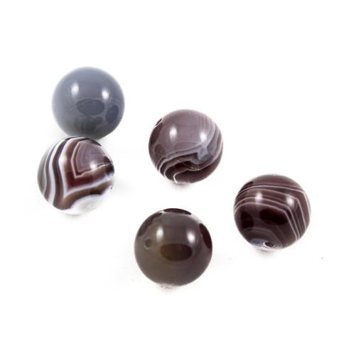 Бусины агат ботсвана шар гладкий 12 мм 1 бусина