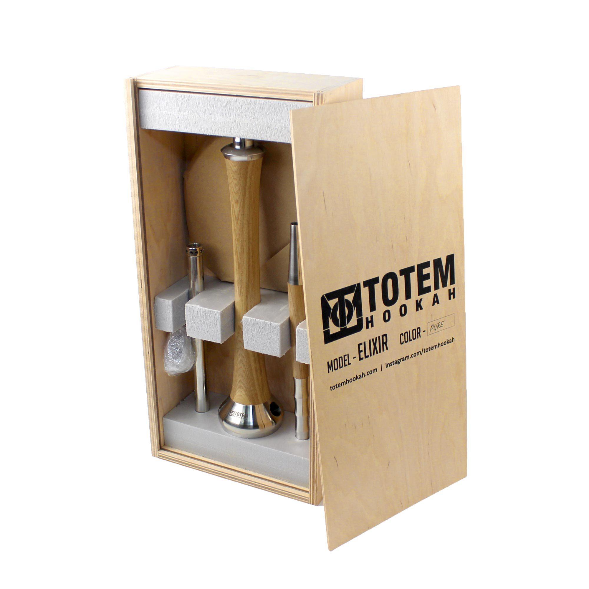 Фирменный деревянный ящик для шахты Totem Elixir Pure