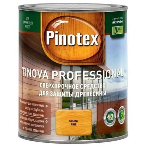 Pinotex Tinova/Пинотекс Тинова Цветной антисептик для профессиональной защиты