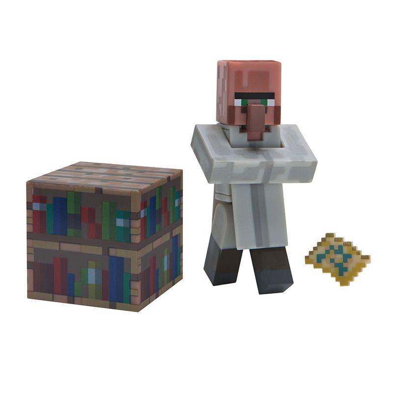 Фигурка Майнкрафт Villager Librarian 8см