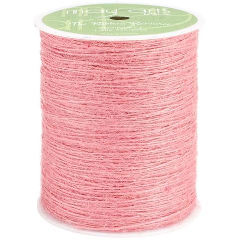 Шпагат джутовый May Arts - розовый