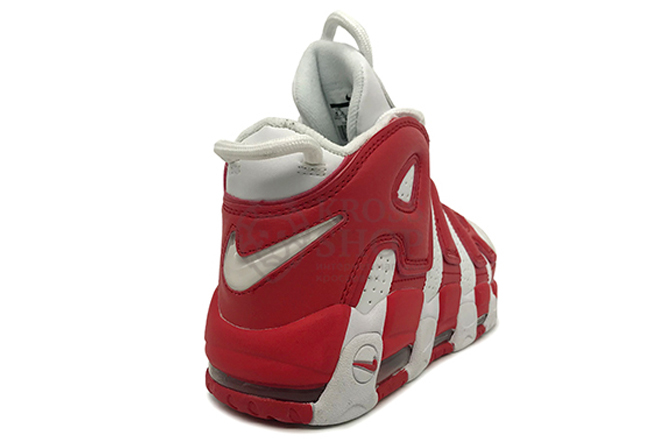 Nike Women's Air More Uptempo Red/White