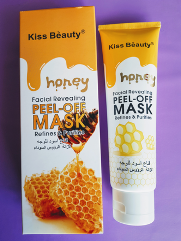 Медовая плёночная маска от Kiss Beauty