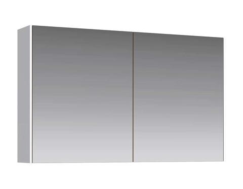 Зеркальный шкаф Mobi 120 белый