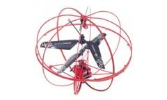 Радиоуправляемый вертолет-шар HappyCow Robotic UFO 777-317 красный