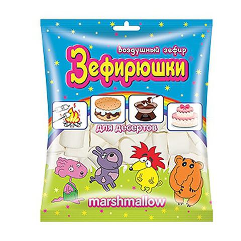 ЗЕФИРЮШКИ воздушный зефир для десертов 1*20, 125 г.