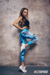 Женские лосины SD CAMO BLUE