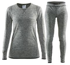 Комплект термобелья женский Craft Comfort (black)