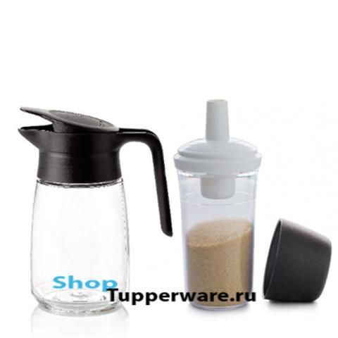 Набор: Кувшинчик(350мл) и сахарница-дозатор(300мл)