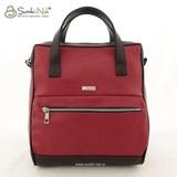 Рюкзак Саломея 1034 кармен красный + черный