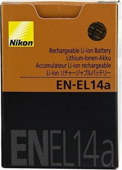 Аккумулятор для Nikon D5200 (Батарея EN-EL14a для фотоаппарата Никон)