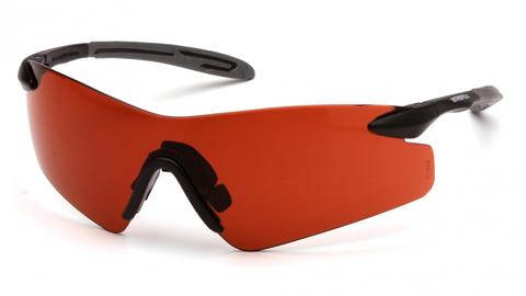 Очки баллистические стрелковые Pyramex Intrepid II SB8835S бронзовые 17%