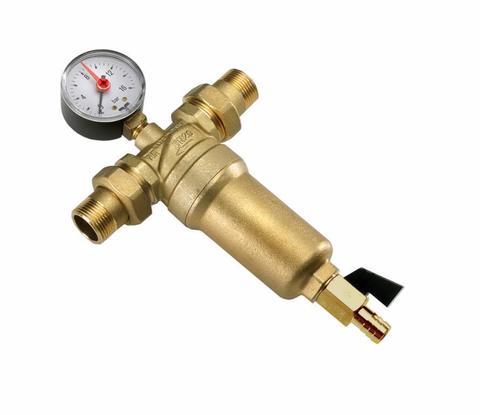 Самопромывной фильтр для горячей воды Tim 1