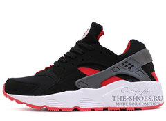 Кроссовки Женские Nike Air Huarache ES Black Red White