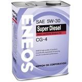 Eneos Super Diesel CG-4 5W30 (4л) – Cинтетическое моторное масло