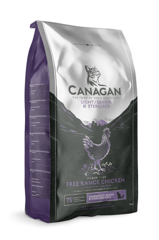 Сухой корм Canagan Grain Free Light/Senior/Sterilised для кошек