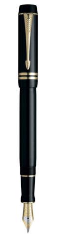 *Перьевая ручка Parker Duofold F77 Centennial, цвет: Black GT123