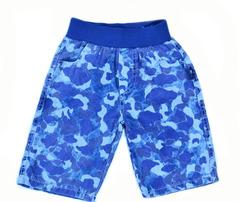 AD5402 синий камуфляж шорты