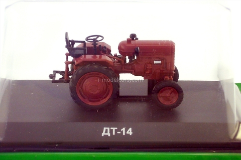 Tractor DT-14 1:43 Hachette #89