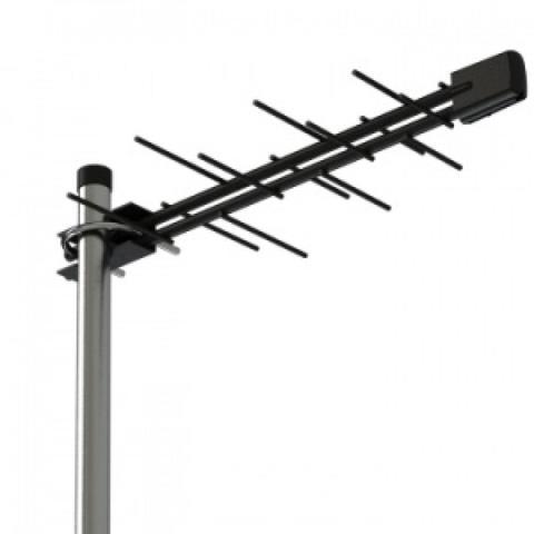 ТВ антенна активная 5V Locus Зенит-14AF (L011.14D) цифровая DVB-T2 на 10-30 км