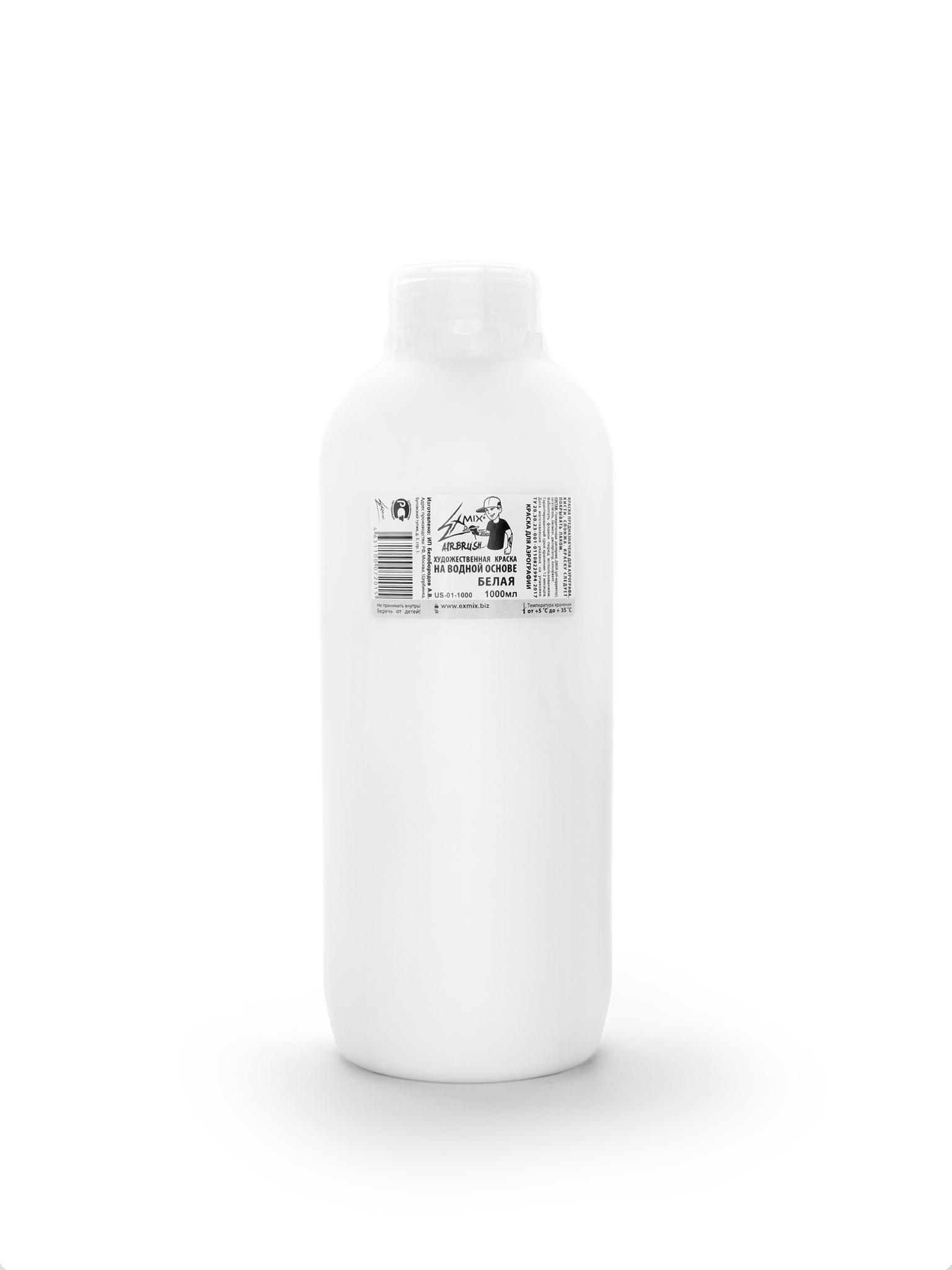 Exmix Краска укрывистая Exmix 01 Белый 1000 мл US-01-1000.jpg