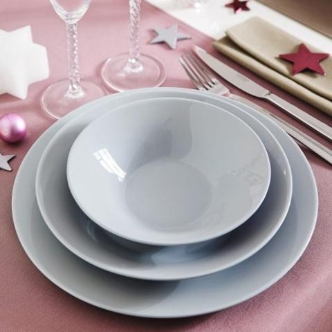 Сервиз столовый Luminarc Alizee Granit Grey 19 предметов (L8446)