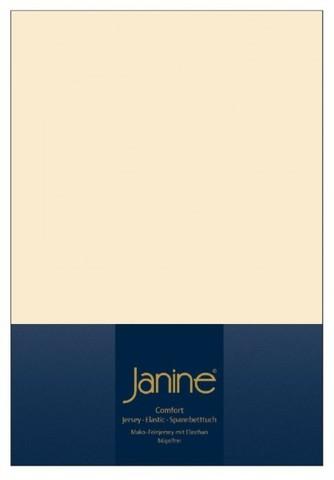 Элитная простыня на резинке Elastic-Jersey 5002 лен от Janine