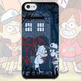 Чехол для iPhone 7+/7/6s+/6s/6+/6/5/5s/5с/4/4s GRAVITY FALLS and DOCTOR WHO