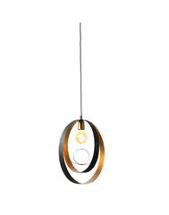 Anelli Подвесной светильник (черный/золото)