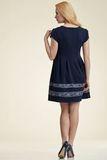 Платье 06174 синий
