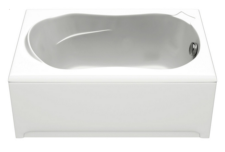 Ванна акриловая BAS Кэмерон 120х70 стандарт на ножках