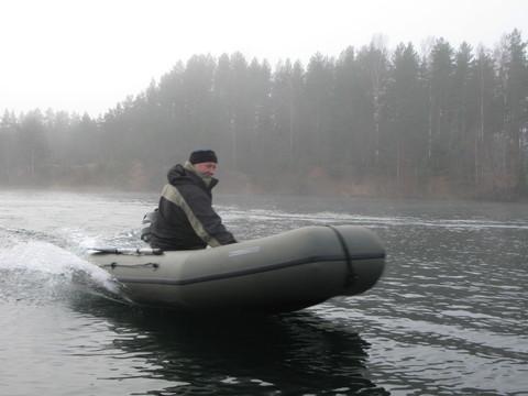 Надувная моторная лодка ПВХ Stream Стрим 3100К с килем