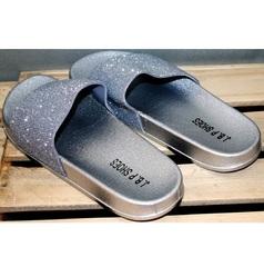 Сланцы женские J.B.P. Shoes Nu1213 Silver.