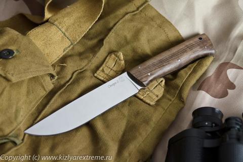 Туристический нож Стерх-2 Орех Полированный z90