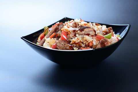Рис с курочкой и овощами
