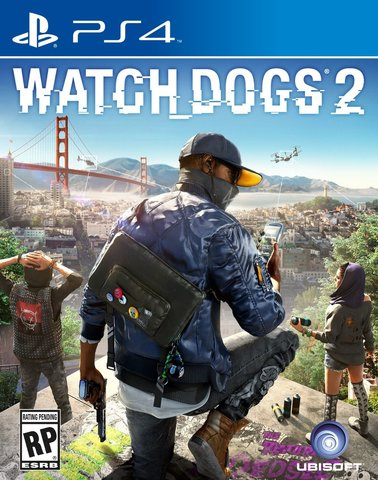 Sony PS4 Watch Dogs 2 (русская версия)