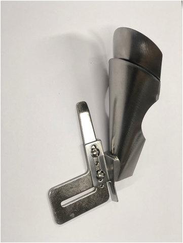 Окантователь в 4 сложения для изготовления шлевок и поясов А 5 (вход 82 мм - выход 30 мм)   Soliy.com.ua