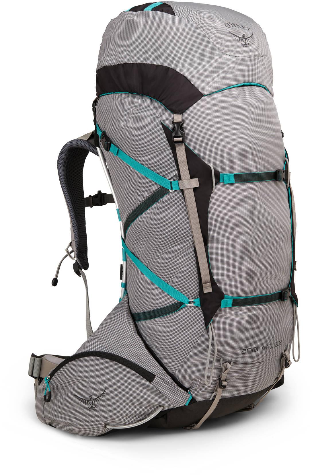 Туристические рюкзаки Рюкзак Osprey Ariel Pro 65 Voyager Grey Ariel_Pro65_S18_Side_Voyager_Grey_web.jpg