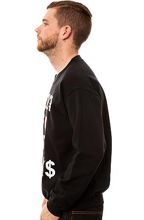 Свитшот bucks черный фото 3