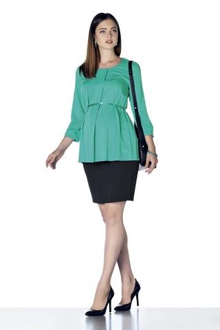 Блузка 01401 зеленый