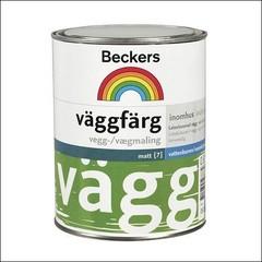 Краска для стен и потолков BECKERS VAGGFARG База А (Белый)