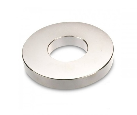 Магнит 30х8.1x3.1 мм, N33S, никель, неодимовое кольцо