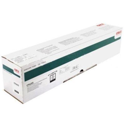 OKI C9655 черный тонер-картридж для C9655. Ресурс 22 500 стр А4. Код заказа: 43837136, 43837132