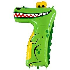 Летающая Цифра 7 (Крокодил)