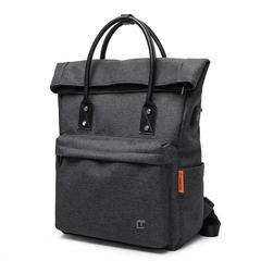Сумка-рюкзак стильная для ноутбука 15,6 Tangcool 703 чёрный