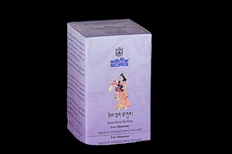 Чай для похудения - Красота тела Kaem-Meen-Da-Shun, фиточай Институт тибетской медицины и астрологии Мен-ци-кханг