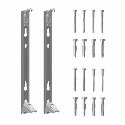 Комплект настенных кронштейнов для радиаторов KERMI Profil тип 22  высотой 200 мм